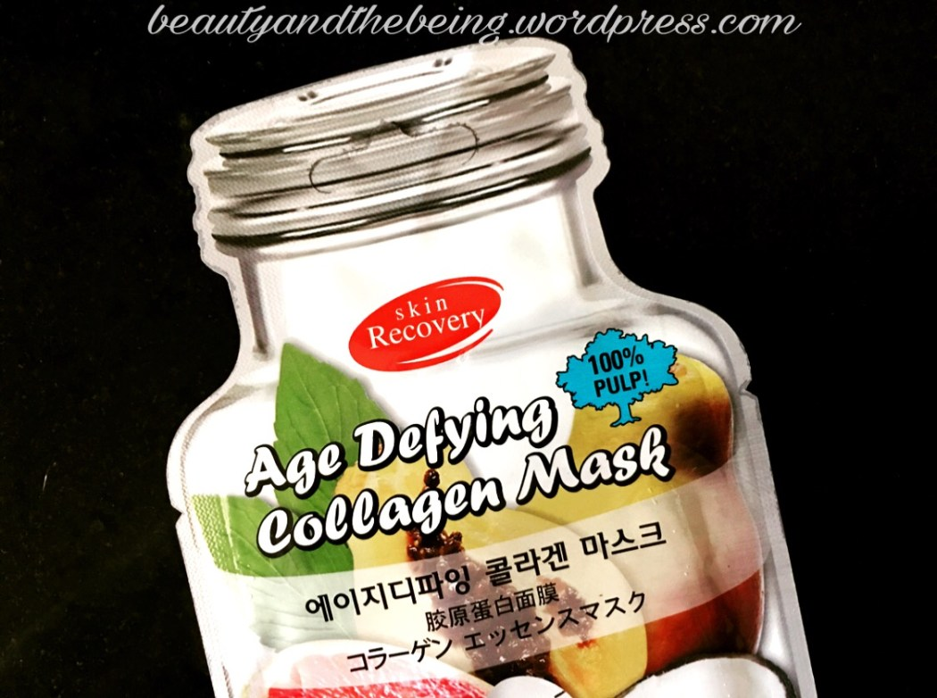 Purederm Skin Recovery Age Defying Collagen Mask