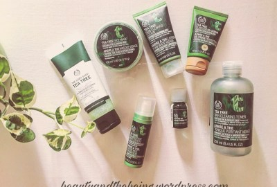 The Body Shop Tea Tree Skin Care Range Review