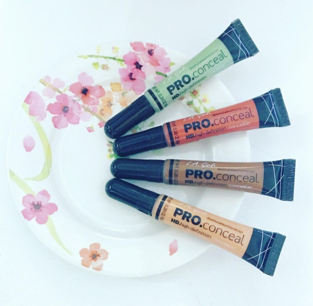 La Girl Pro Conceal Hd Concealer Review Beauty And The Being