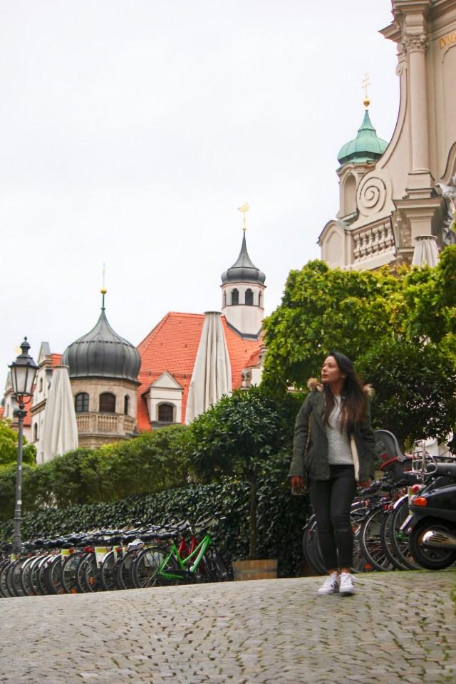 Exploring Munich with SANDEMANs New Europe Walking Tour