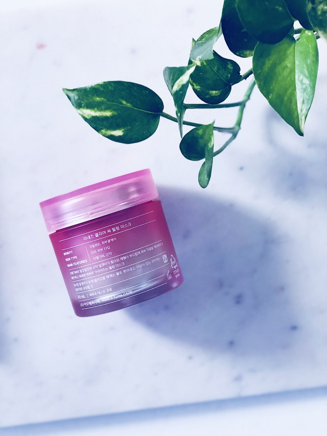 Laneige Clear-C Peeling Mask   Review and Thoughts