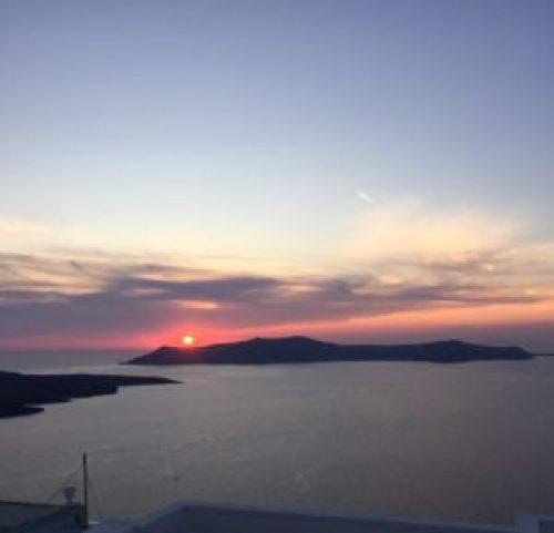 Santorini Sunet