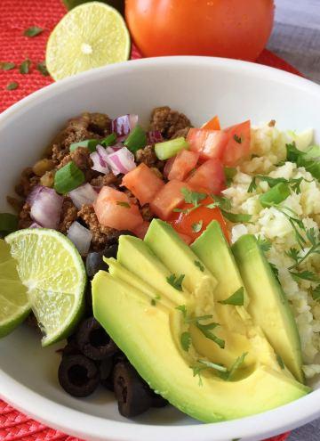 Meal Prep Burrito Bowls