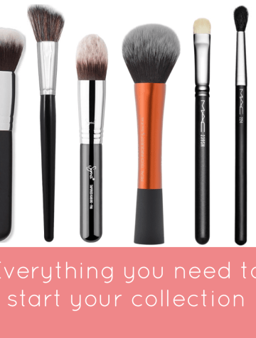 must have makeup brushes for beginners