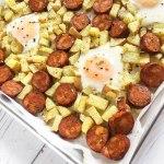 Quick & Easy Sheet Pan Breakfast: (Paleo, Whole30)