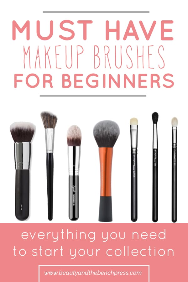 Your complete guide to the best makeup brushes for beginners. These brushes will have you set with what you need in your makeup kit! There is something in every price range with brushes from Morphe, Real Techniques and MAC cosmetics! #makeup #morphe #brushes