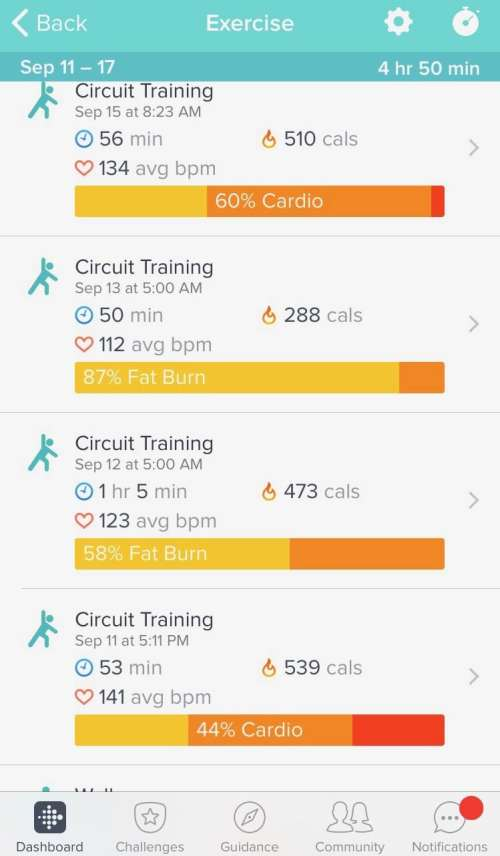 top fitness apps
