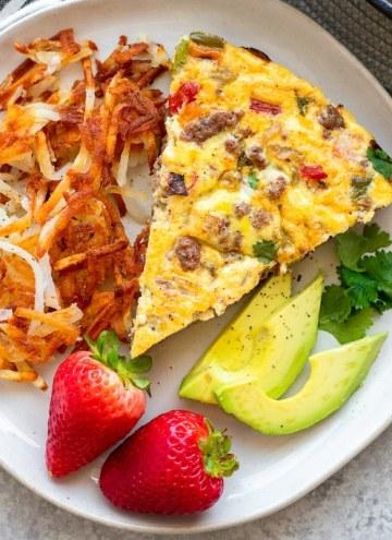 paleo breakfast frittata