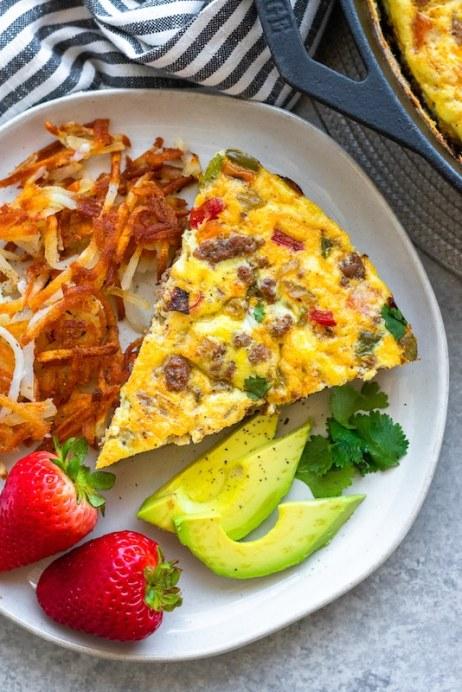 whole30 breakfast frittata