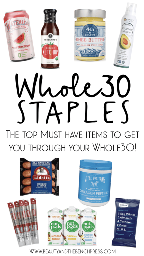 My Whole30 Staples! These are my favorite must have products to help you get through your first Whole30!