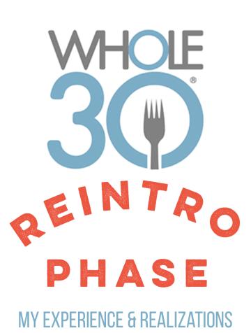 whole30 reintroduction