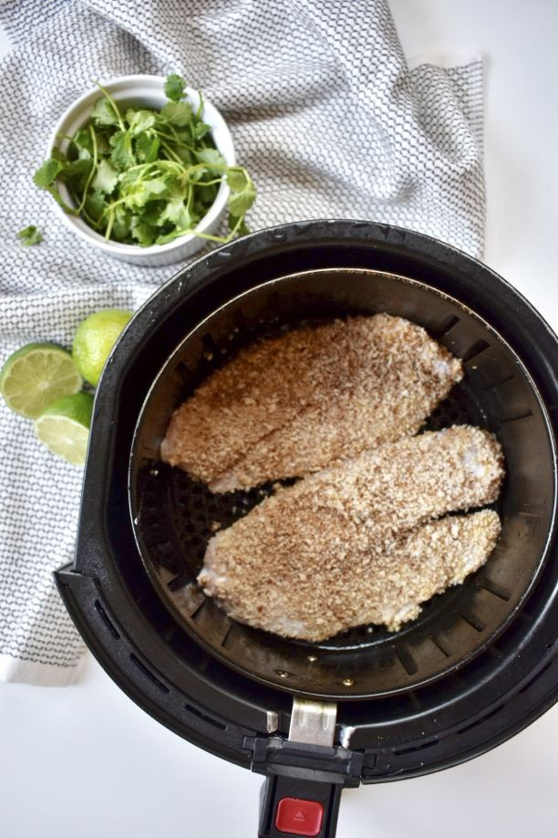 air fried tilapia
