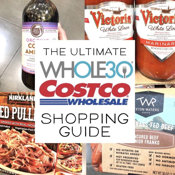 whole30 compliant items at Costco