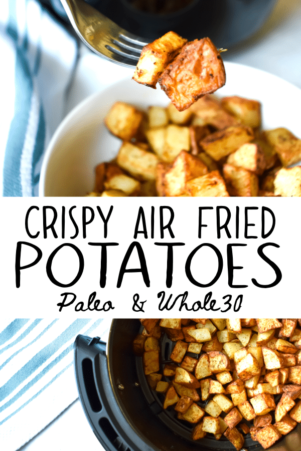 air fried potatoes