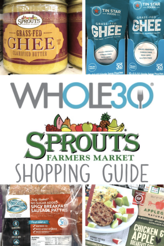 Your complete guide to Whole30 compliant items from Sprouts #whole30 #sprouts