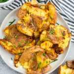 Air Fryer Smashed Potatoes (Paleo, Whole30)