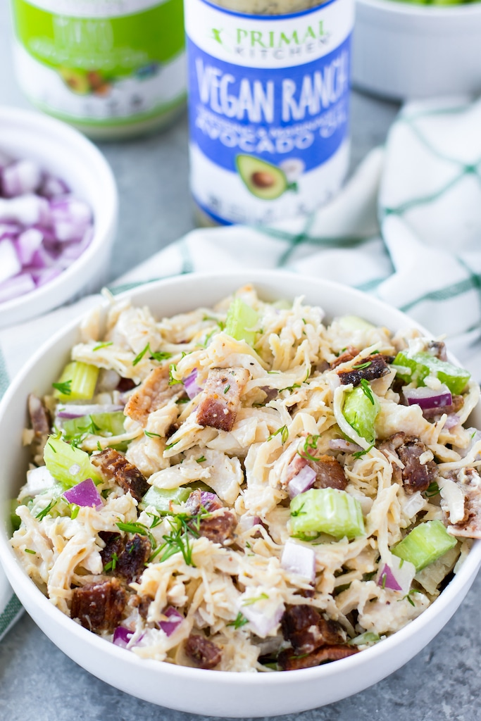 whole30 bacon chicken salad