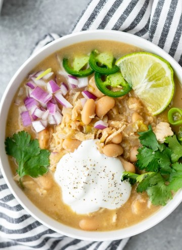 dairy free white chicken chili
