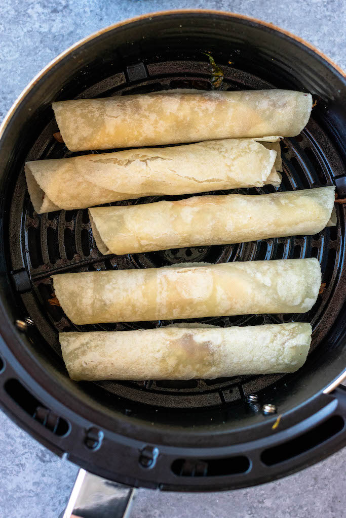 flautas in the air fryer