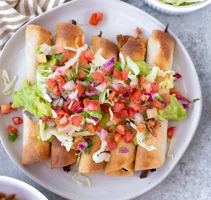 gluten free rolled tacos
