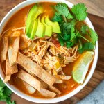 whole30 creamy chicken tortilla soup