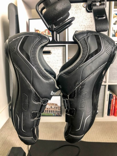 peloton bike shoe holder