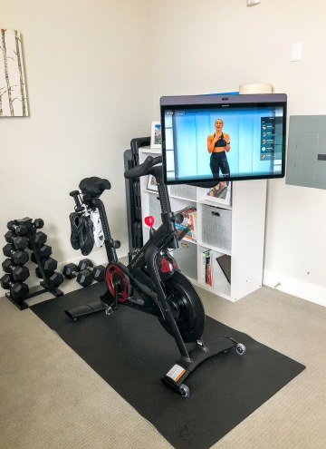 peloton bike+ swivel