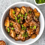 Honey Garlic Chicken Thighs (Instant Pot, Paleo)
