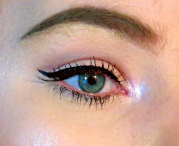 Classic winged eyeliner