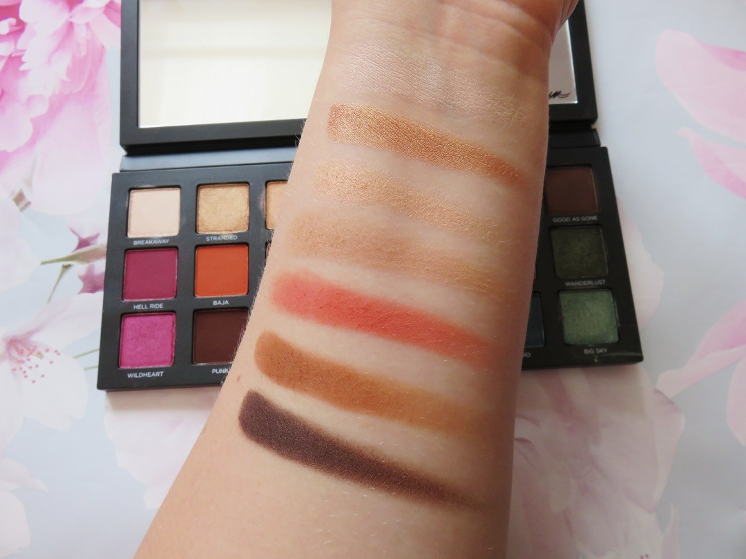 Born to Run swatches