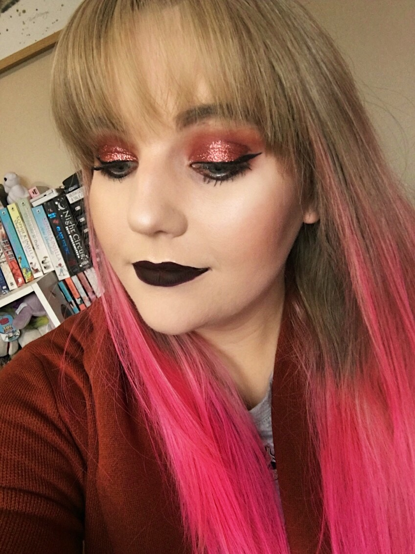 Vampy Autumn Makeup