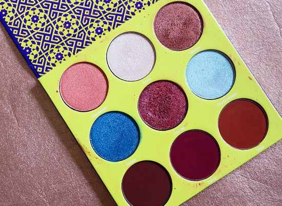 The Saharan 2 Autumn Eyeshadow Palettes