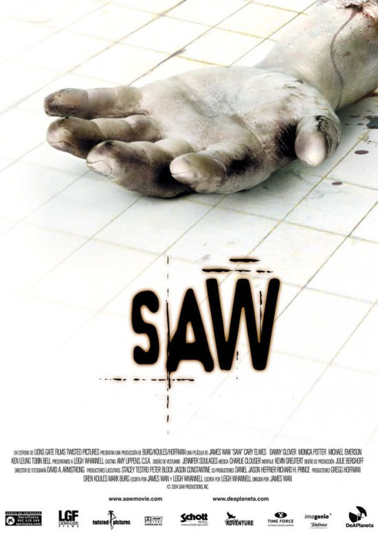 Saw - scariest movies