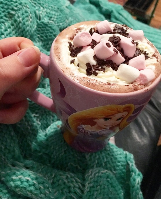 Sunday hot chocolate