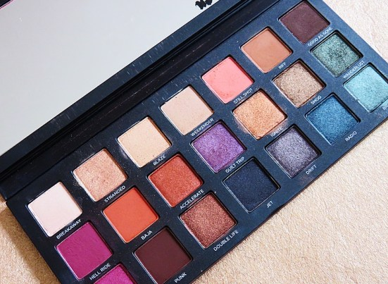 Urban Decay Born to Run Autumn Eyeshadow Palettes