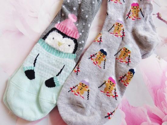 Christmas socks - what I got for my birthday