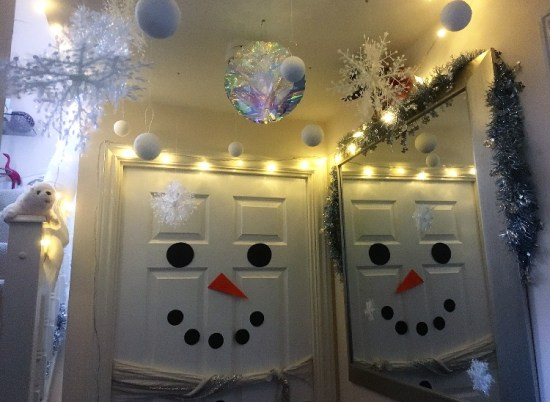 Snow forest - Decorating for Christmas