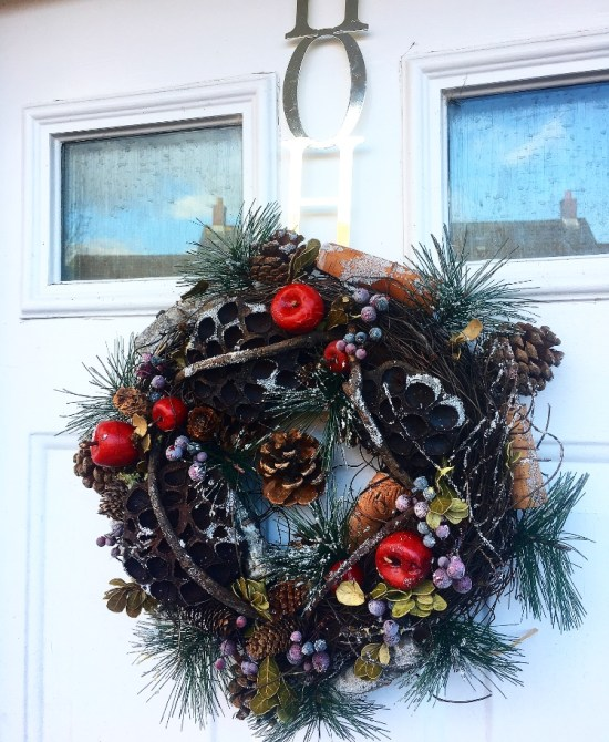 Wreath - Decorating for Christmas