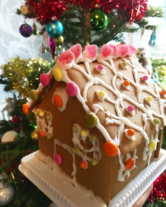 Gingerbread House - Christmas Tag