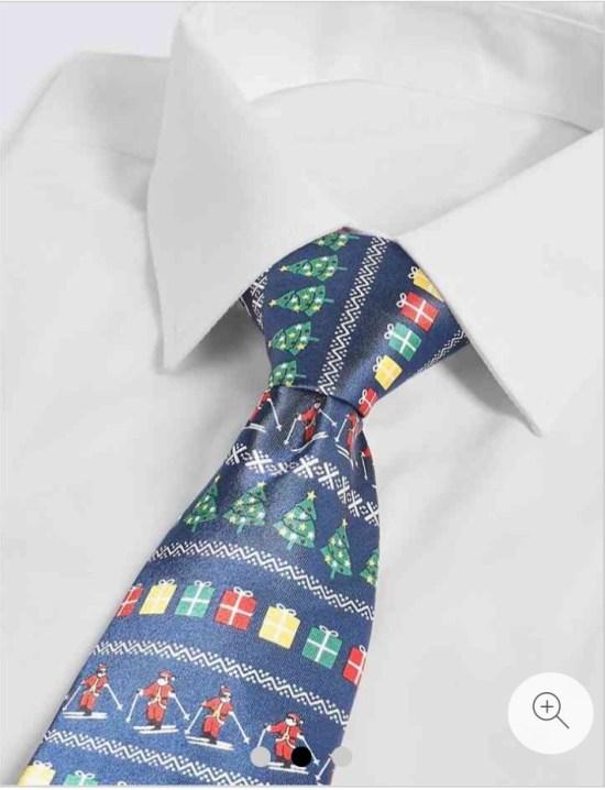 Festive tie - Stocking filler for him