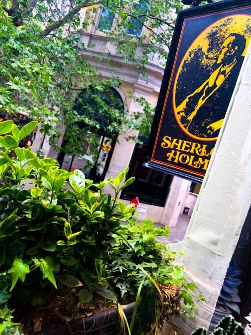 Sherlock Holmes Pub - May Bank Holiday