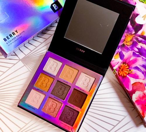 Beauty Bay Berry 9 Colour Palette - beauty haul june 2019