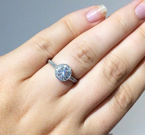 Engagement Ring - wedding planning journey