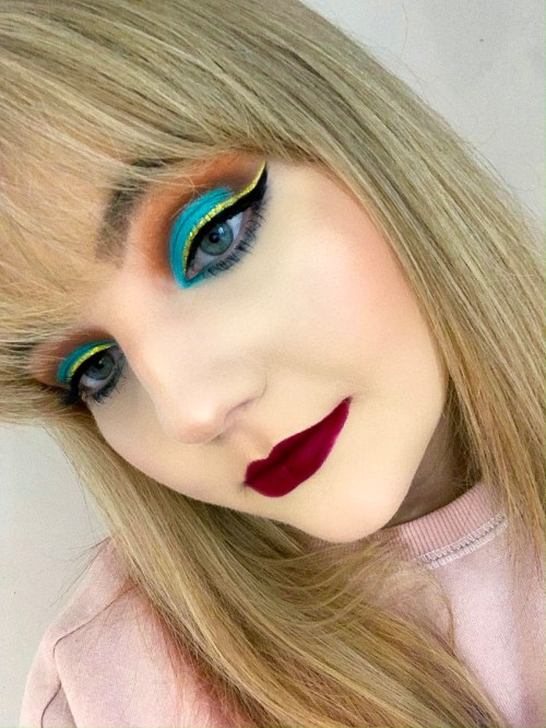 Aladdin Inspired Makeup