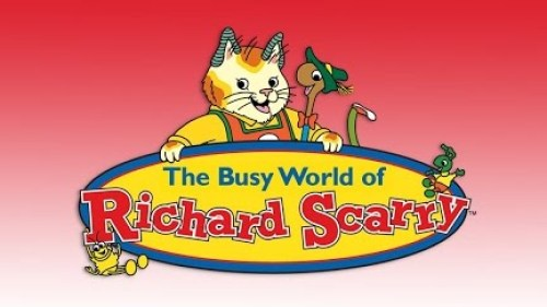 The busy world of richard scarry childhood tv shows