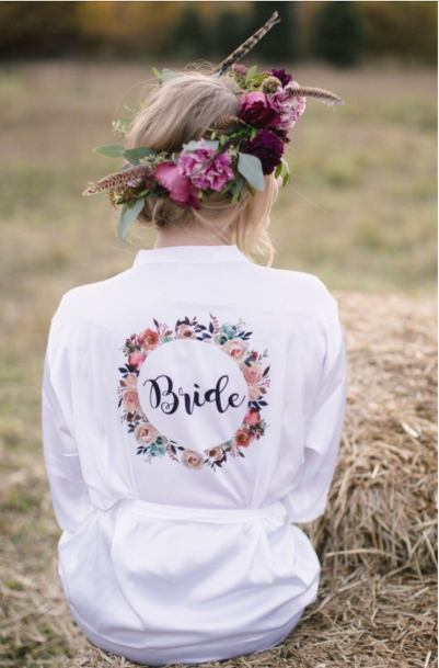 bride robe - Pointless things I want for my wedding