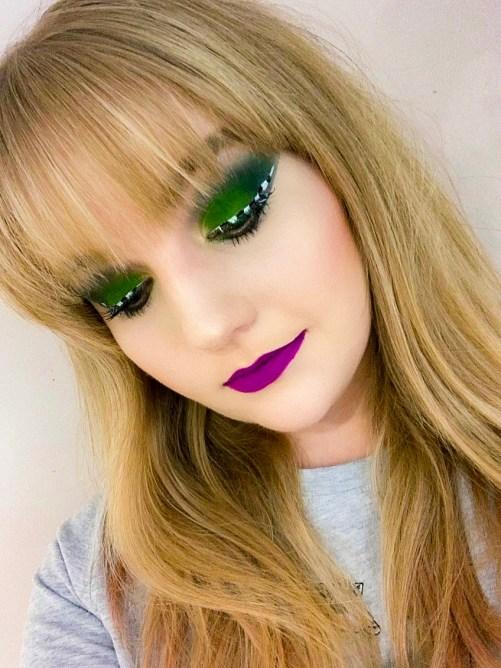 Beetlejuice inspired makeup tutorial
