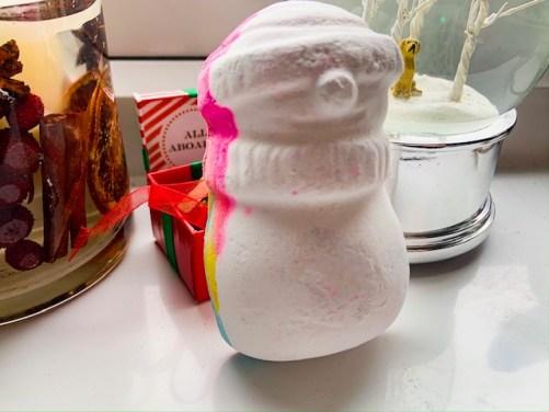 Snowman Dreaming - Lush Christmas Haul 2019