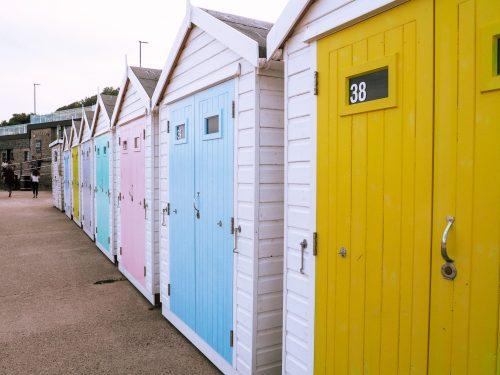 Lyme Regis july 2020