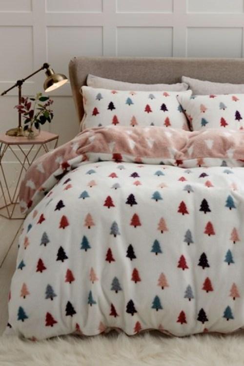 winter fleece bedding